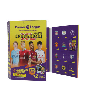 PANINI Premier League Adrenalyn XL 2020/21 Joulukalenteri