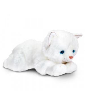 """KEEL TOYS Valkoinen Kissa """"Misty"""" 30 cm"""