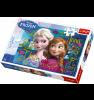 TREFL Palapeli 100 Huurteinen Seikkailu: Anna & Elsa