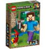 LEGO MINECRAFT BigFig Steve ja papukaija 21148