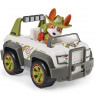 PAW PATROL Tracker's Jungle Cruiser Vehicle with Collectible Figure