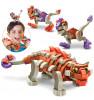 Bloco Konstruktor Ankilosaurus ja raptorid