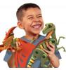 Bloco Konstruktor Pterosaurus ja velociraptor