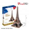 CUBICFUN 3D Palapeli Eiffelin torni
