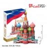 CUBICFUN 3D Palapeli Pyhän Vasilin katedraali